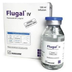 Flugal- IV Infusion 200 mg-100 ml - 100 ml ( Square )