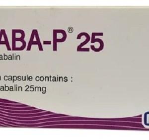 Gaba-p - 25 mg Capsule ( Renata )