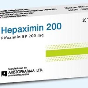 Hepaximin - 200 mg Tablet ( Aristopharma )