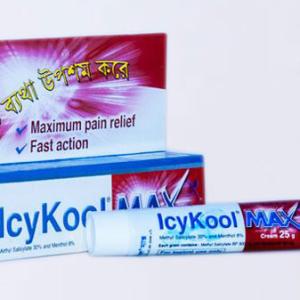 Icykool- Cream 30%+8% - 25 gm tube Beximco Pharmaceuticals Ltd