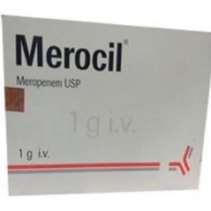 Merocil- IV Injection 1gm vial(Radiant Pharmaceuticals Ltd)