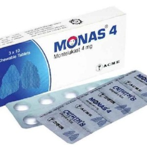 Monas- Chewable Tablet 4 mg(ACME Laboratories Ltd)