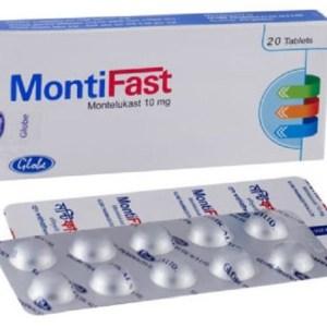 Montifast -Tablet 10 mg(Globe Pharmaceuticals Ltd)