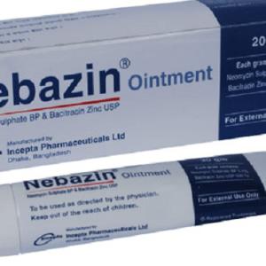 Nebazin- Ointment 20 gm tube Incepta pharma