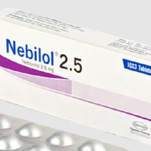 Nebilol tablet 2.5 mg Opsonin Pharma Ltd
