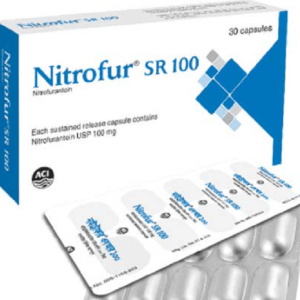 Nitrofur SR- Capsule 100 mg aci