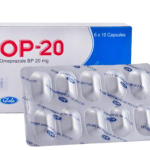 OP-20Capsule 20 mg Globe Pharmaceuticals Ltd