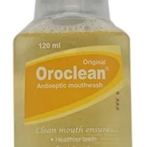 Oroclean Original - Mouthwash 120 ml bottle(Incepta Pharmaceuticals Ltd.)