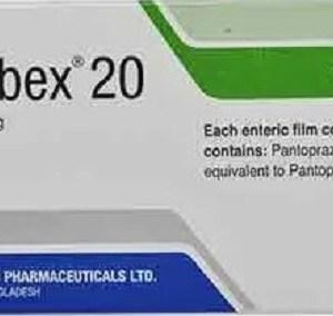 Pantobex- 20 mg Tablet (Beximco Pharmaceuticals Ltd)