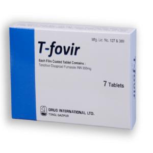 T-Fovir Tablet 300 mg Drug International Ltd.