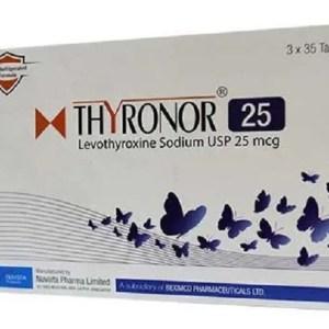 Thyronor-25g Tablet (Nuvista Pharma Ltd)