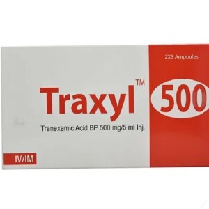 Traxyl- IM-IV Injection 5 ml ampoule( Nuvista )