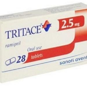 Tritace - 2.5 mg Tablet( Sanofi )