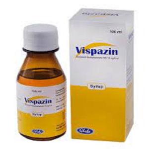 Vipazin syrup 50 mg Globe