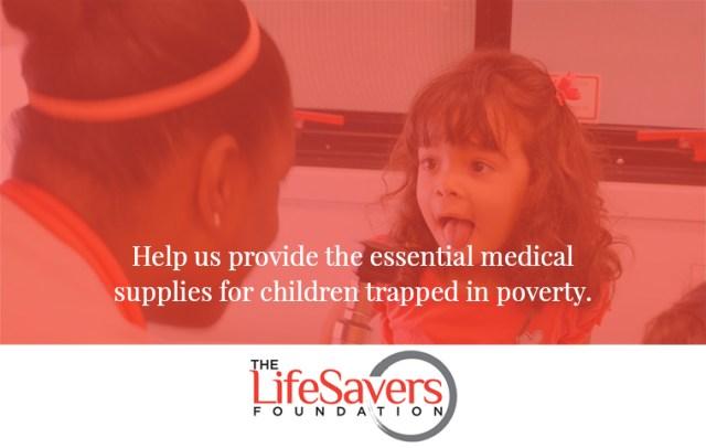 DONATE | The LifeSavers Foundation