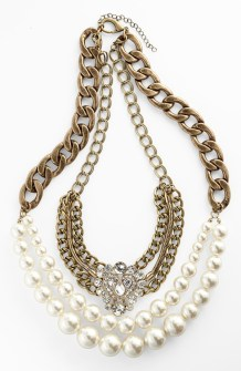 Multi Chain Necklace $48