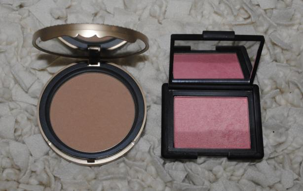 Too Faced Bronzer, Nars Deep Throat Blush