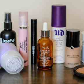 What's in My Beauty Travel Bag