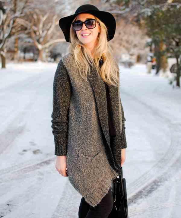 rachel barkules hinge grey poodle sweater