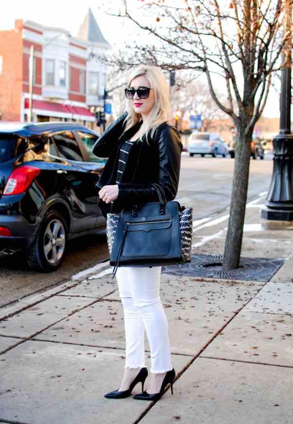 rachel barkules black & white