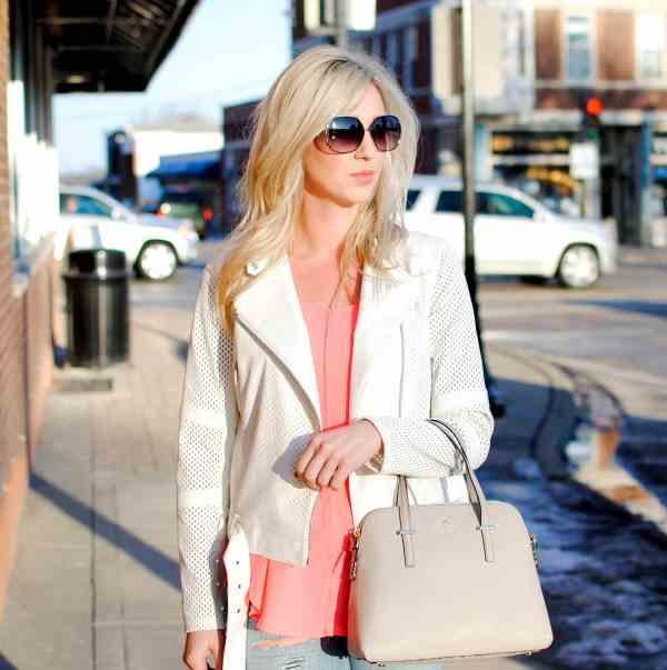 spring white jacket