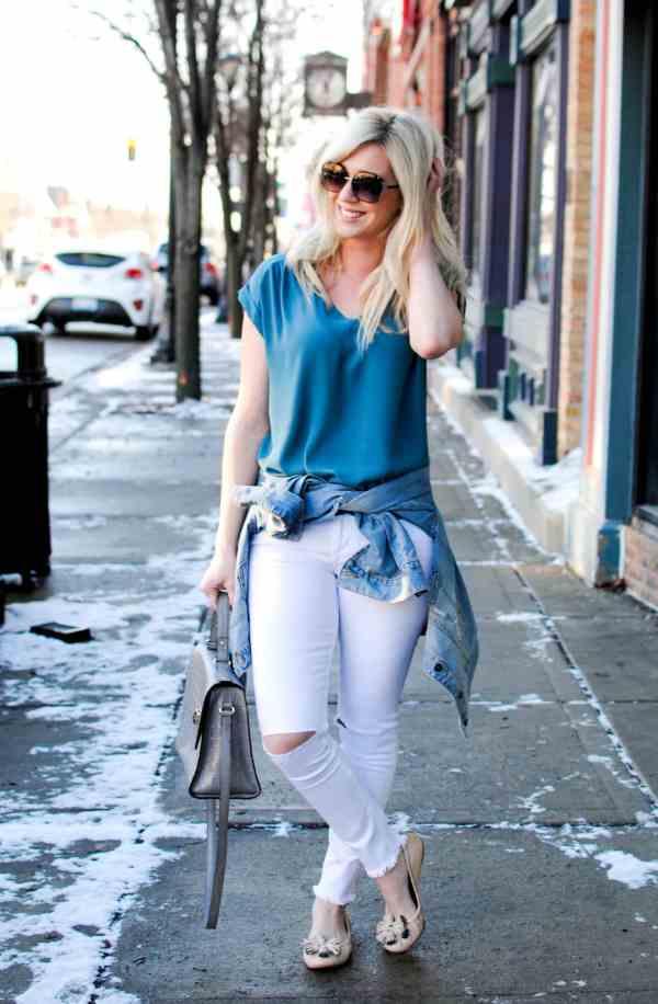 cool blue white tones