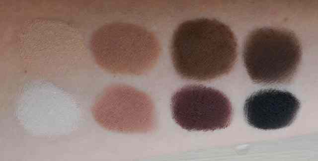 lorac pro matte palette swatches without flash