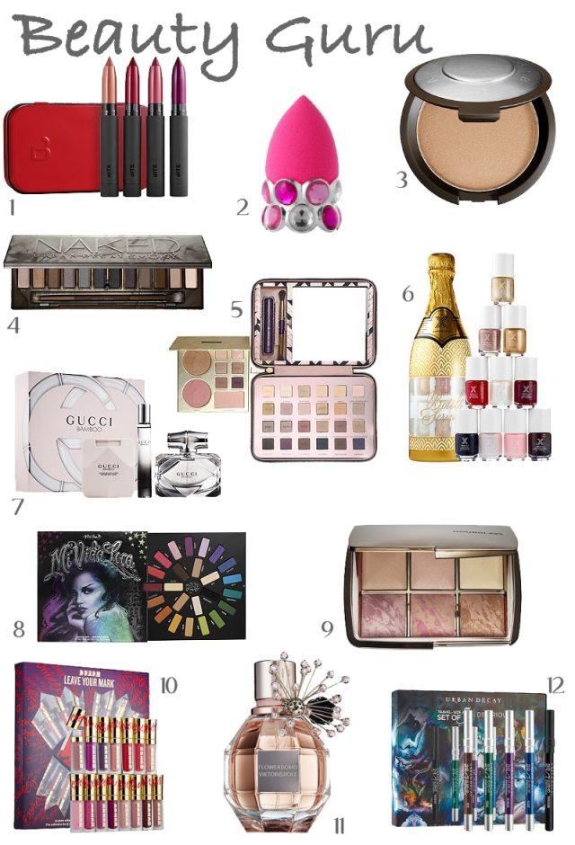 beauty guru gift guide