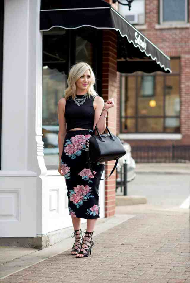 givenchy antigona small black, pencil skirt, joie quinn sandals