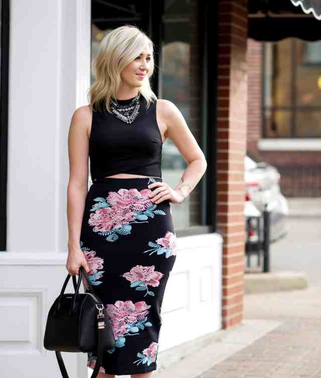 elizabeth and james darci pencil skirt