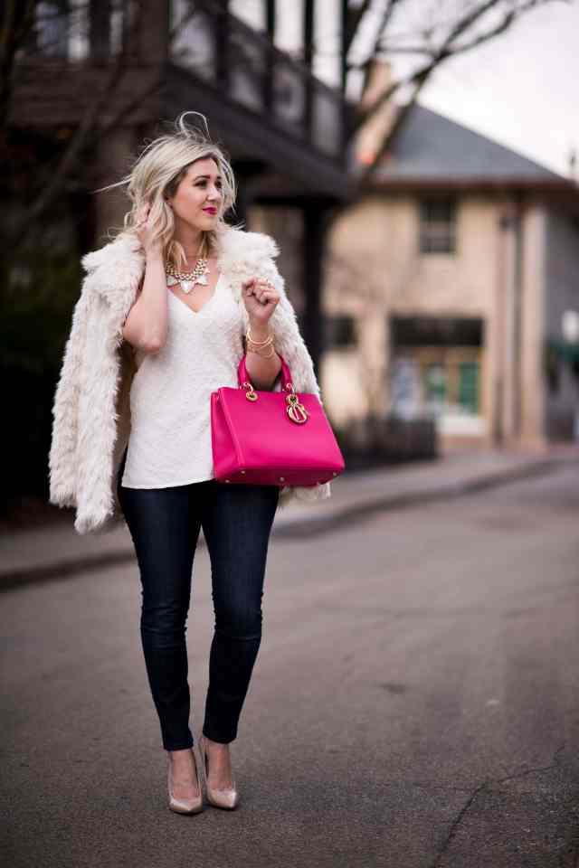 dior bag, topshop coat, topshop coat