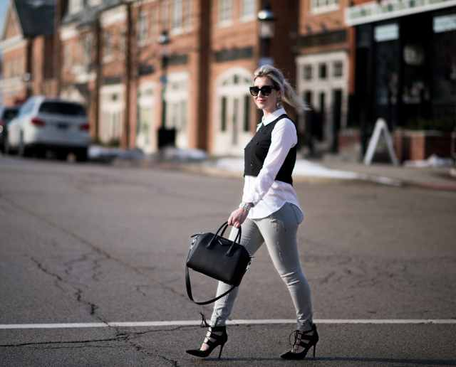 daytime casual chic look