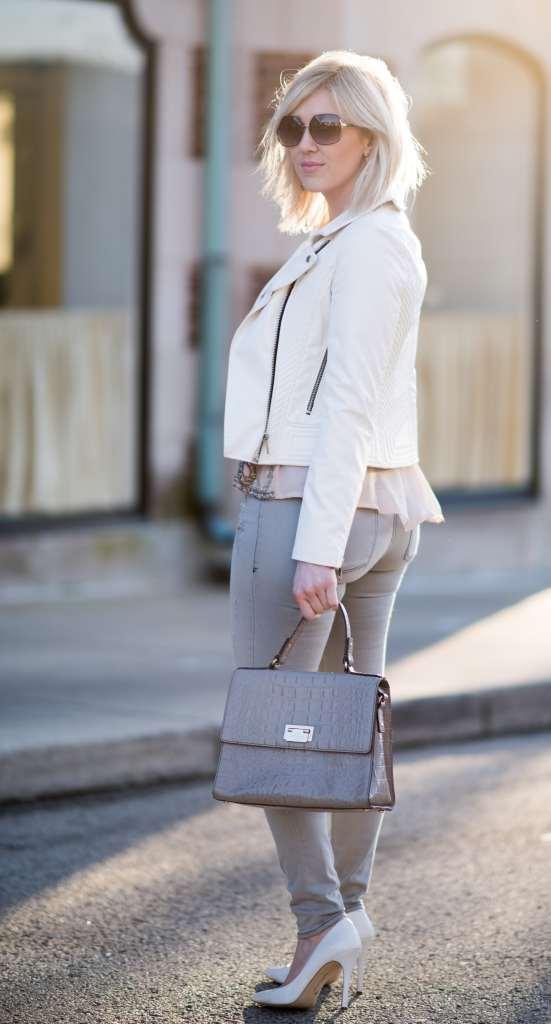 blank nyc white leather jacket