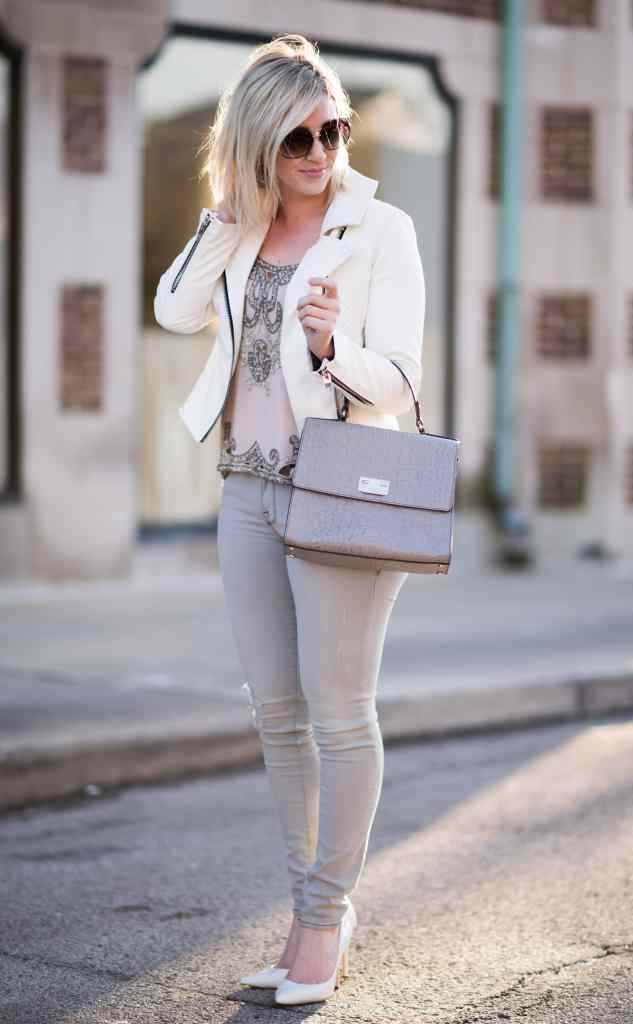 white & grey tones