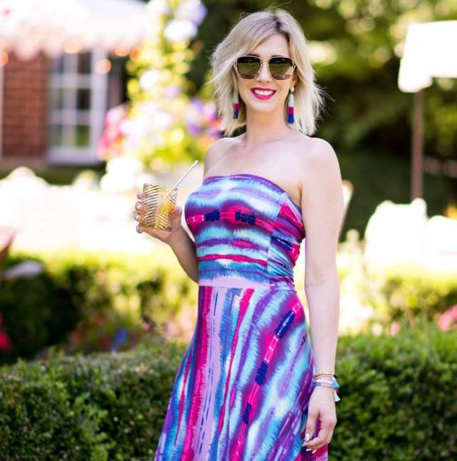 felicity & coco neon maxi dress