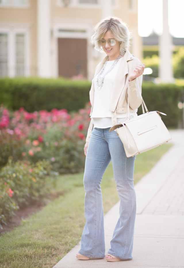 Frame 'Le High Flare' High Rise Jeans , sunnyspot