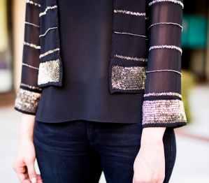 AMUSE SOCIETY Amity Embellished Jacket