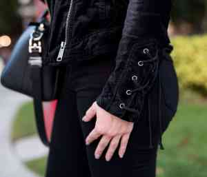 free people lacey velvet jacket