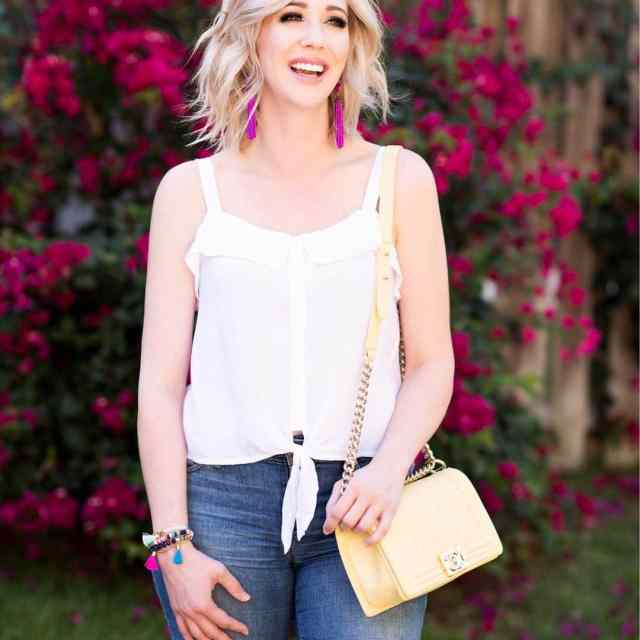 I love a white top for spring and summer Itshellip