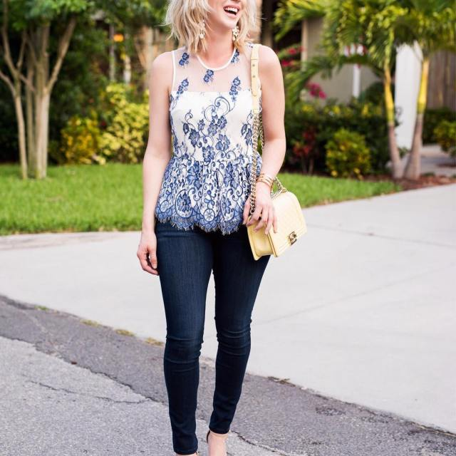 The prettiest top is on the blog today I foundhellip