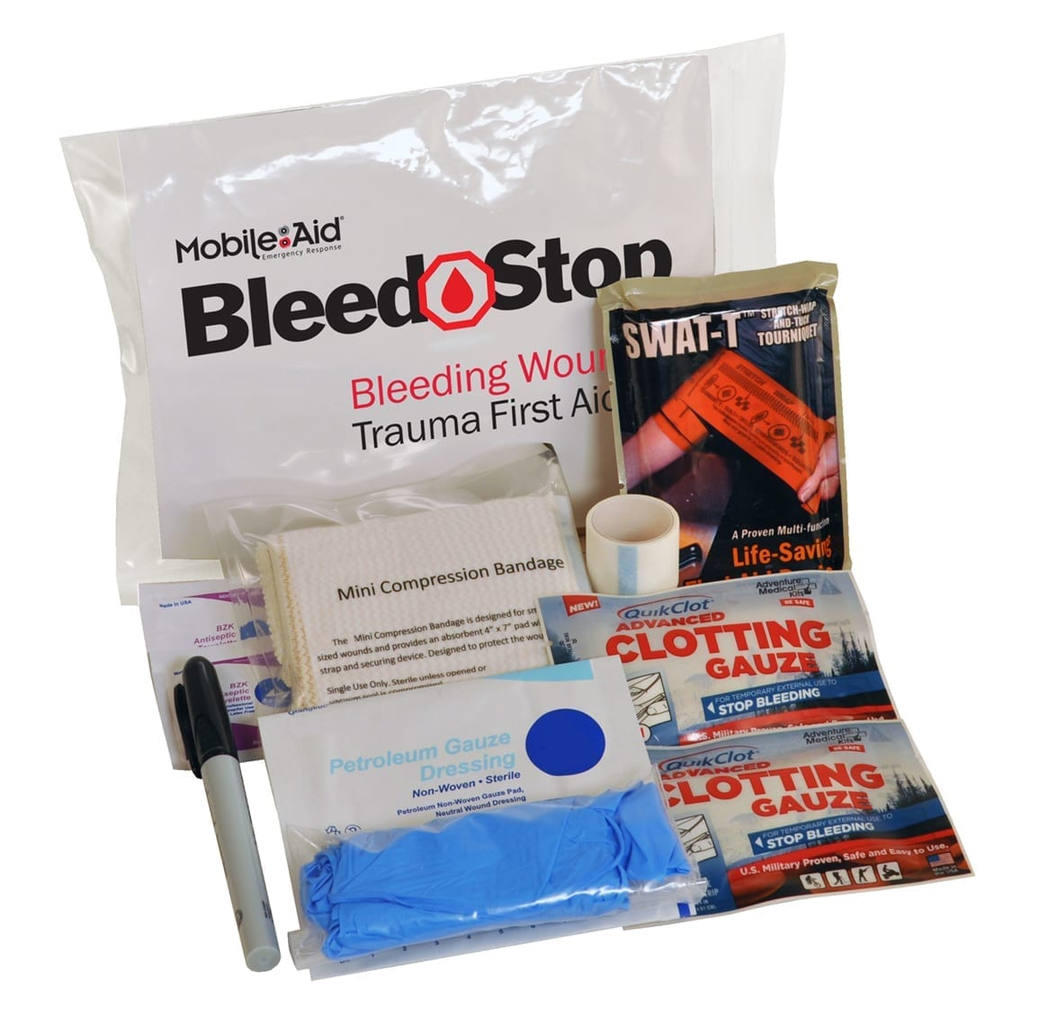 Bleed Stop Compact 100 Bleeding Control Amp Gunshot Wound