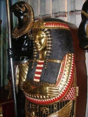Queen Sarcophagus Cabinet JR FOQUS The Jolly Roger