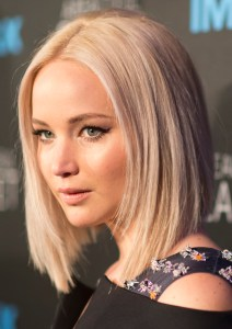 """Jennifer Lawrence attends the world Premiere of the IMAX film """"A Beautiful Planet"""" at AMC Lowes Lincoln Square theater on Saturday, April 16, 2016 in New York City. The film features footage of Earth captured by astronauts aboard the International Space Station. Photo Credit: (NASA/Joel Kowsky)"""
