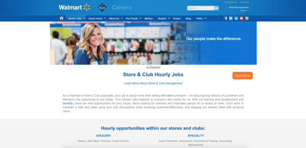 How To Find The Walmart Online Application For Retail Work