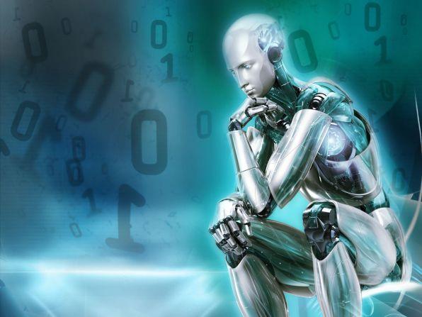 Robot-Thiking-Desktop-Wallpaper