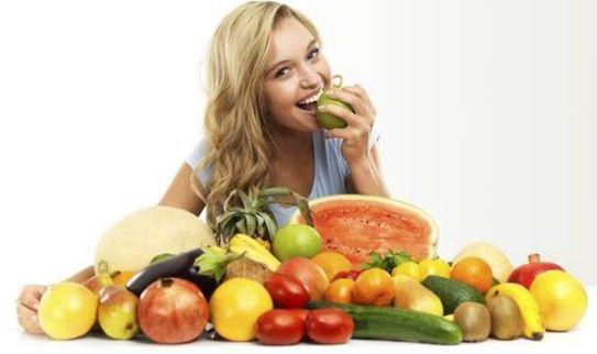 vegetable eating women girl   Lifestan