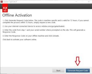 Adobe request generate code