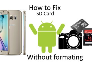 How to fix SD card - Lifestan