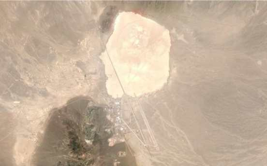 Area 51 satellite image - lifestan
