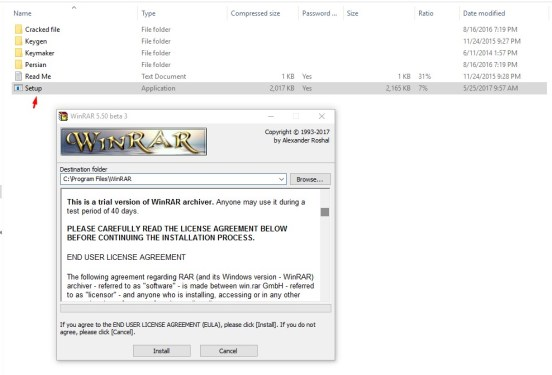 Download the latest version of WinRar x64 (64 bit) free in English on CCM